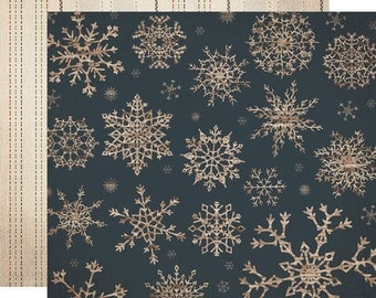 Carta Bella Scrapbook Paper - Blizzard
