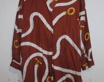 Vintage CELINE Shirt Dresses Made in France