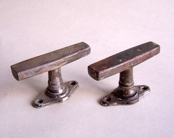 Vintage Window Handle from window Latch. Set of 2.