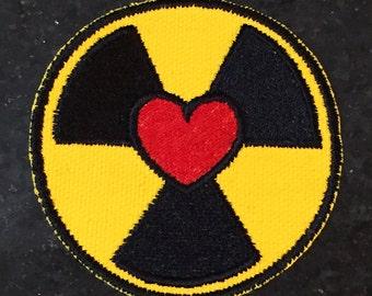 Ghostbusters Reboot HOLTZMANN Bio Heart Patch