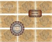 Personalized Speakeasy Cards Printable 9 Custom Member Passes Prohibition Ephemera 1920s Gatsby Wedding Announcement Favors Gentlemen's Club