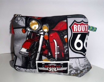 Cosmetics bag beauty case toiletry bags Route66