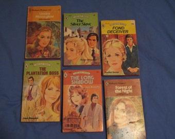 Harlequin Romance VTG 1970s Classic Novels Travel, Adventure, Love Stories (Set 5) -