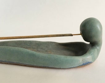 Incense Holder, Pottery Stick Incense Burner