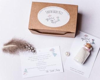 Tooth Fairy Kit, Tooth Fairy Gift, Tooth Fairy Letter