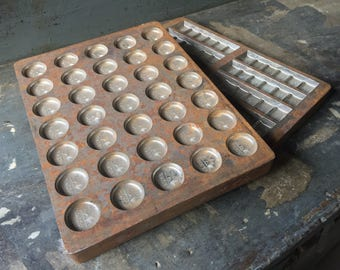 Vintage Chocolate Molds
