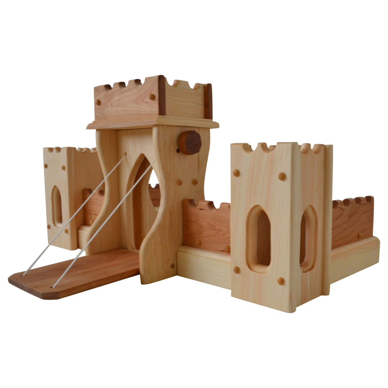 how to build elc wooden castle