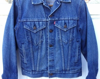 Small denim jacket | Etsy