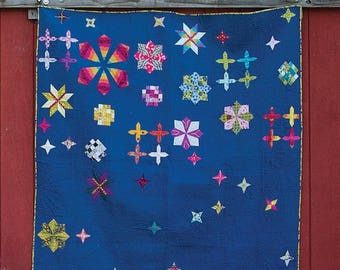Celestial Quilt Pattern by Alison Glass Free Shipping in the US