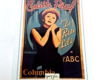 Edith Piaf Etsy