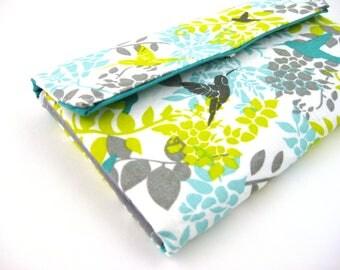 Womens Wallet | Bifold wallet | Fabric Wallet- Reispeices | Humming Bird