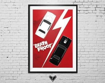 Death Proof Movie Poster (Quentin Tarantino)
