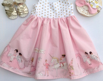 Magical Parade Girl Tea Party Dress, Girl, Toddler