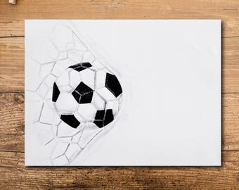 Soccer Art Print - Soccer Decor - Soccer Coach Gift - Soccer Player Gift - Soccer Team Gift - Soccer Mom Gift - Soccer Gift for Men -Athlete