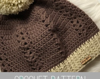 Crochet Pattern // Bentleigh Slouch // Easy