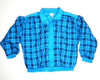 Vintage Abstract Windbreaker jacket...