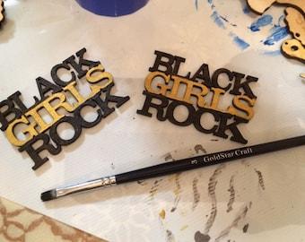 Black Girls Rock earrings