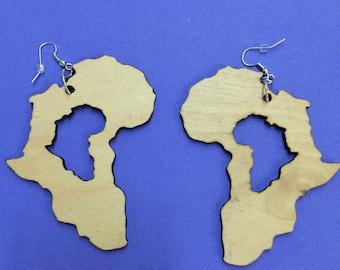 Heart of Africa earrings