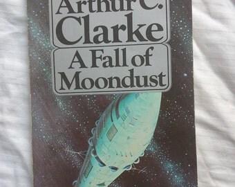 A fall of Moondust by Arthur C. Clarke paperback book 1980s book