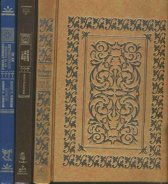 Vintage Decorative Book Cover : Set of robert schuller books decorative bindings