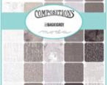 Compositions Half Yard Bundle by BasicGrey for Moda Fabrics SKU 30450HF