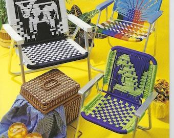 BOOK ONLY #3109 Garden Spot Macrame Chair Patterns