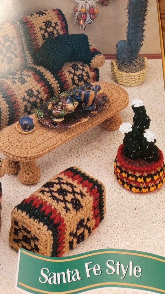 Santa Fe Style Living Room: Santa Fe Style Annie's Attic Fashion Doll Crochet Club