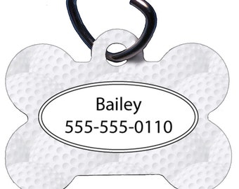 Golf Themed Dog Collars