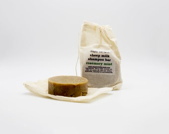 Sheep Milk Shampoo Bar