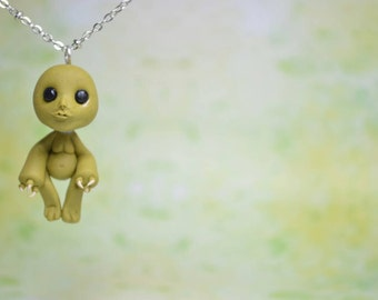 Doctor Who Inspired Slitheen Necklace