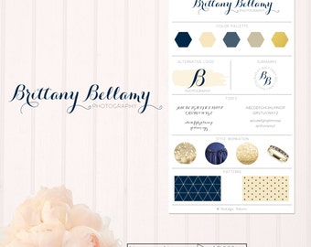 Navy & Cream Branding Set- LD003