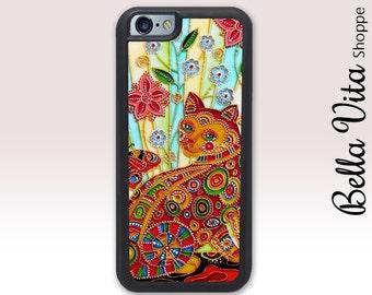Beautiful Cat iPhone 6 Case, iPhone 6 Plus Case Cats 1053 I6S