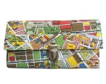 Large wallet ladies Berlin purse wallet