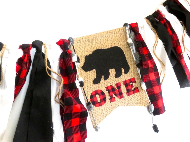 Buffalo Plaid Bear Birthday Banner Highchair High Chair Lumberjack Woodland Little Bear Party C&ing Fishing Hunting  sc 1 st  Purchase Luxury Womens Mens and Kids online Furniture Bedding ... & Buffalo Plaid Bear Birthday Banner Highchair High Chair Lumberjack ...