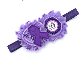 Cystic Fibrosis Bow, CF Awareness, Purple Awareness Bow, CF Support, Cystic Fibrosis, CF Baby, Cystic Fibrosis Baby, Cf Toddler Bow