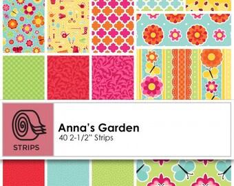 "Anna's Garden Pinwheel (40 = 2 1/2"" x 44"") designed by Patrick Lose"
