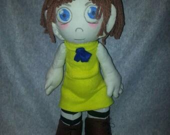 Fran Bow doll