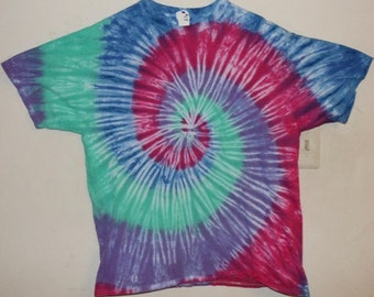 "Adult XL T-Shirt, ""Spring""l Tie Dye (E)"