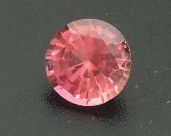Extra Fine Padparadscha Sapphire Round 4.80 mm