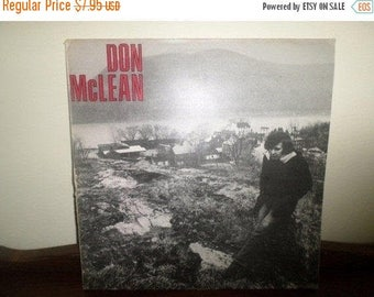 Save 30% Today Vintage 1972 LP Record Don McLean Self Titled Excellent Condition United Artists 4560