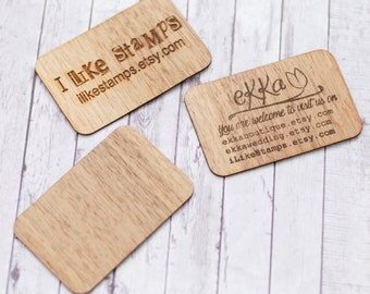 Wood business cards, Wooden business cards, Walnut tree business cards, Blank wood cards, DIY business cards, Engraved business cards