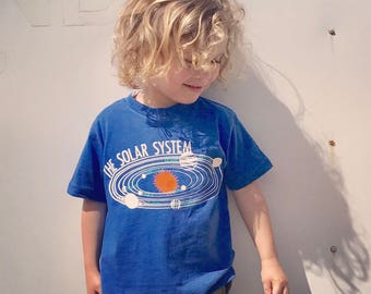 Solar System T-shirt for Kids
