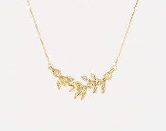 Golden Birch Necklace