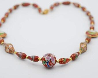 Assorted Shape Cloisonne Beads