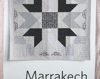 Marrakech Quilt Pattern - Heather Jones - HJ006