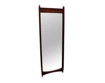Mid-Century Danish Milo Baughman Dillingham Mirror #1
