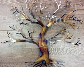 Rustic Tree of Life Maple Tree Wall Decor