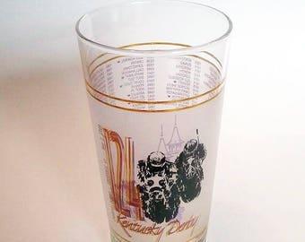 1998 Kentucky Derby Mint Julep Glass