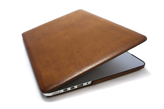 MacBook Hard leather case made by genuine Italian leather as protection choose Body and Device