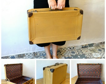 Suitcase, Train Case, Antique Valise, Old Luggage, Suitcase Table, Travel Trunk, Luggage Bag, Cardboard Suitcase, Leather Suitcase, Trunk